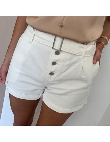 Short blanc Phibie