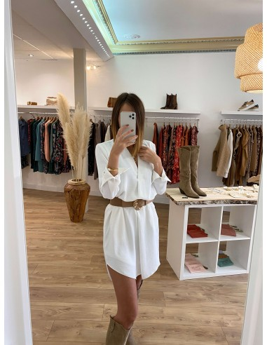 Robe blanche Terry