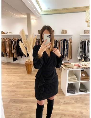 Robe noire Clover