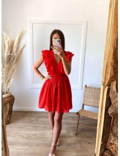 Robe rouge Massaëlle